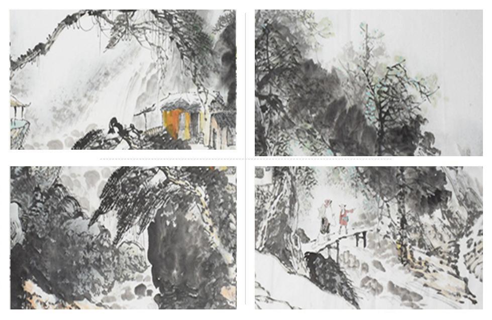 蒋敏现代画家写意小六尺山水3xj.jpg