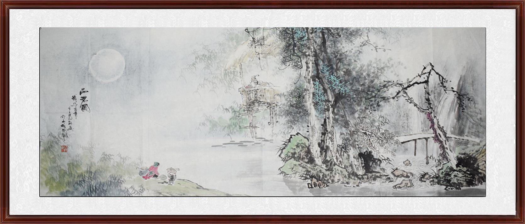 蒋敏省美协名家写意小六尺风景画1kx.jpg